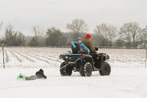 Snow Covered our Land in South Georgia - article image
