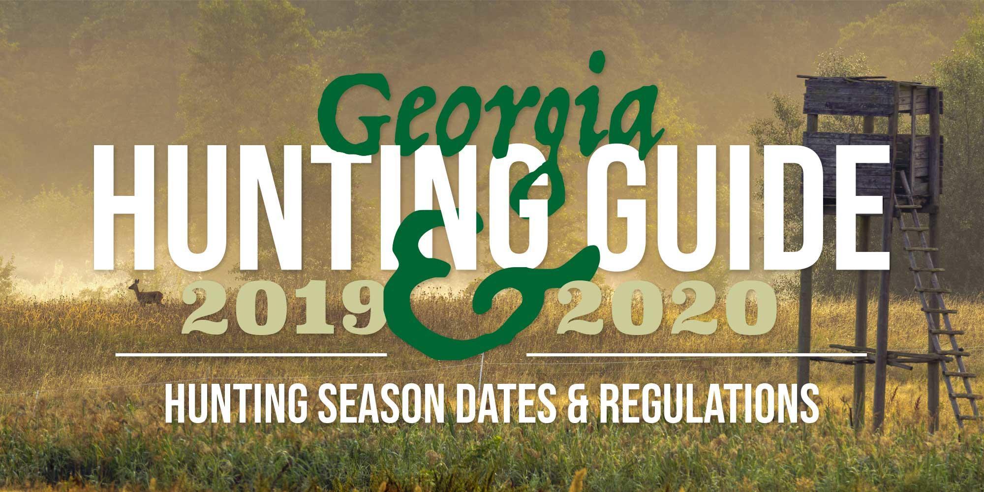 Georgia Hunting Season 2019-2020 - article image