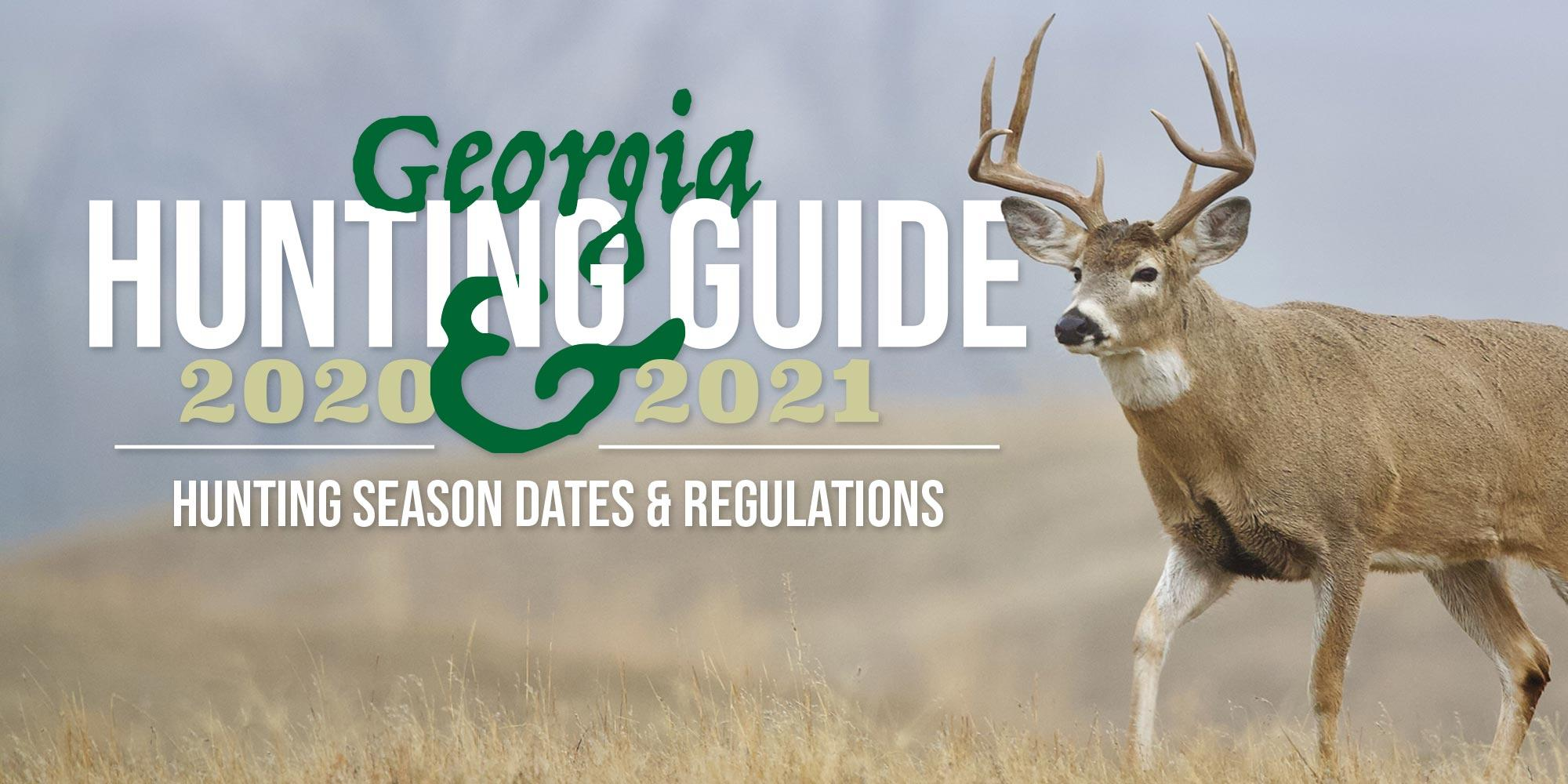 Georgia Hunting Season 2020-2021 - article image