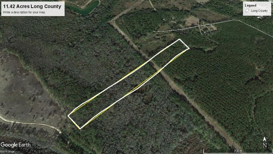 11.42 Acres in Ludowici main image
