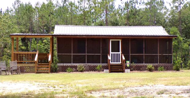 Cabin Retreat in Tattnall County image