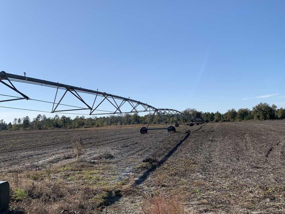 Working Farm Land Under Pivot  main image