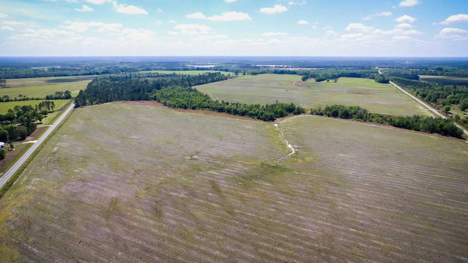 Working Farm Land Under Pivot  main image