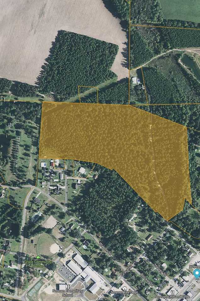 35+/- Acre Rural Tract in City Limits of Screven main image