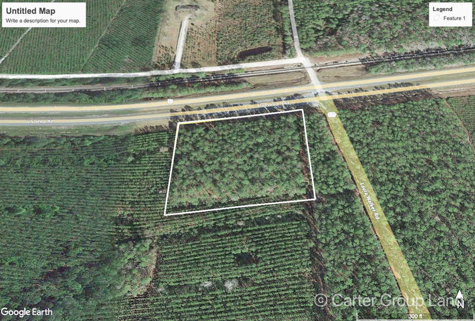 3 Acre Ware County Homesite main image